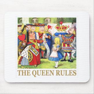 ハートの女王はアリスの女王の規則を言います! マウスパッド