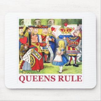"""ハートの女王は言います、""""女王は支配します! """" マウスパッド"""