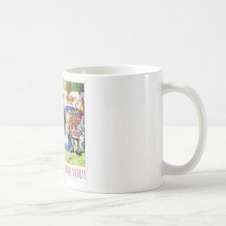 """ハートの女王は言います、""""私はあなたのボスです! """" コーヒーマグカップ"""