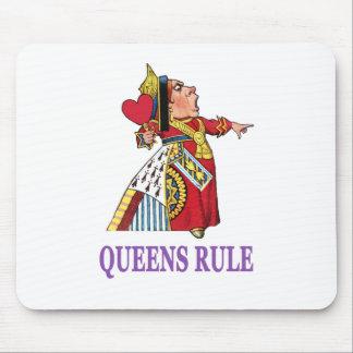 """ハートの女王は、""""女王の規則宣言します! """" マウスパッド"""