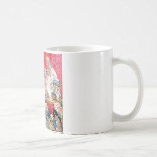 ハートの女王及び王のための帽子屋Testifys コーヒーマグカップ