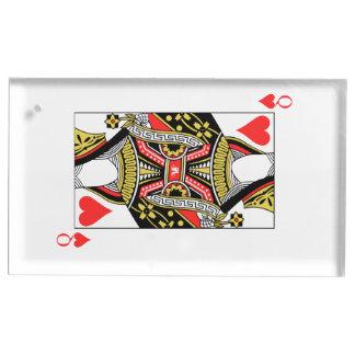 ハートの女王-あなたのイメージを加えて下さい テーブルカードホルダー