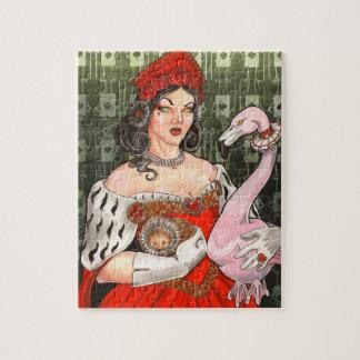 ハートの女王 ジグソーパズル