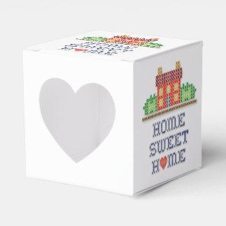 ハートの家の甘い家 フェイバーボックス
