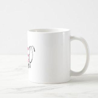 ハートの専門職 コーヒーマグカップ