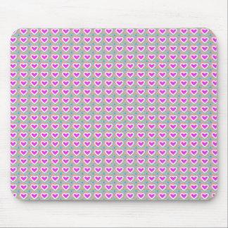 ハートの恋人のピンクのコレクションのギフト マウスパッド