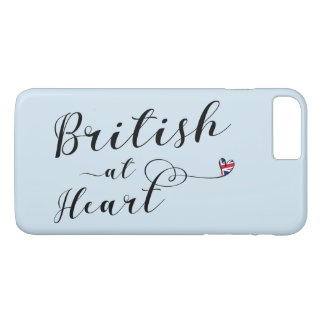 ハートの携帯電話の箱のイギリス iPhone 8 PLUS/7 PLUSケース