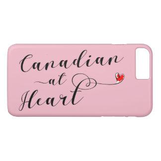 ハートの携帯電話の箱のカナダ人 iPhone 8 PLUS/7 PLUSケース