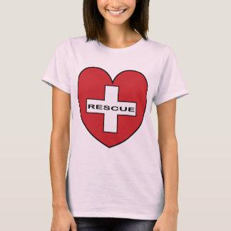 ハートの救助 Tシャツ
