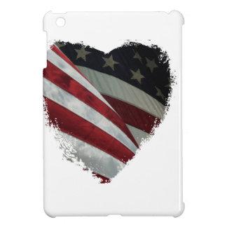 ハートの旗 iPad MINIケース