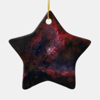 ハートの星雲 セラミックオーナメント