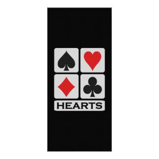 ハートの棚カード ラックカード