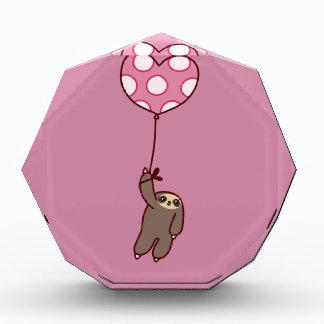 ハートの気球の怠惰 表彰盾
