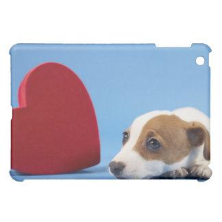 ハートの犬 iPad MINIケース