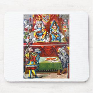 ハートの王及び女王-試験ハートの悪党 マウスパッド