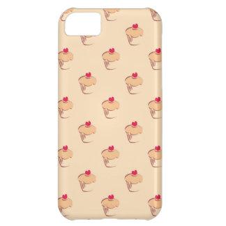 ハートの甘いレトロのカップケーキのマフィン iPhone5Cケース