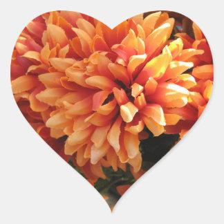 ハートの花 ハートシール
