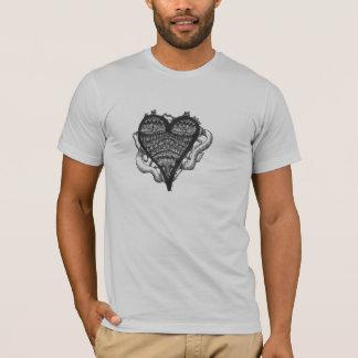 ハートの落書き Tシャツ