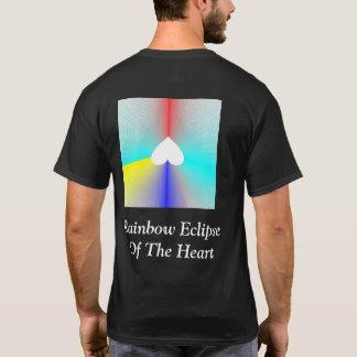 ハートの虹食 Tシャツ