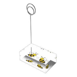 ハートの蜂蜜の蜂 テーブルカードホルダー