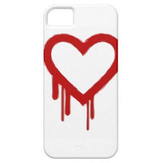 ハートの裁ち切り iPhone 5 カバー