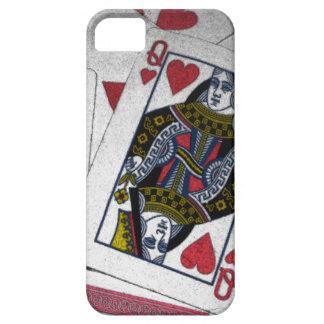 「ハートの遊ぶカードiPhone 5の場合の女王 iPhone SE/5/5s ケース