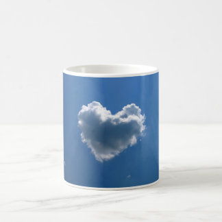 ハートの雲の形 コーヒーマグカップ