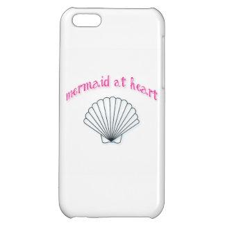 ハートの電話箱の人魚 iPhone5Cケース