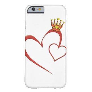 ハートの電話箱の女王 BARELY THERE iPhone 6 ケース