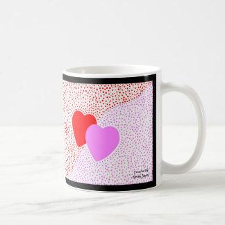 ハートの驚きのコーヒー・マグ コーヒーマグカップ