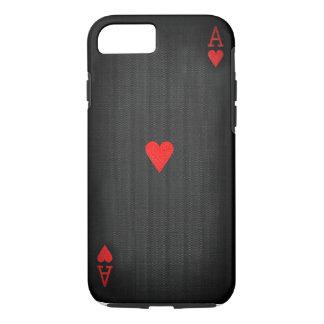 ハートの黒いエース iPhone 7ケース