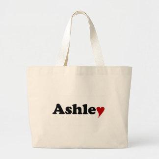 ハートのAshley ラージトートバッグ