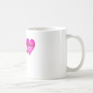 ハートのHealtyの幸せな体 コーヒーマグカップ