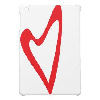 ハートのiPadの場合 iPad Mini カバー