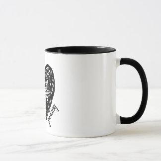 ハートのJunkingのコーヒー・マグ マグカップ