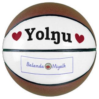 ハートのYolnguのプライドのバスケットボール(大型) バスケットボール