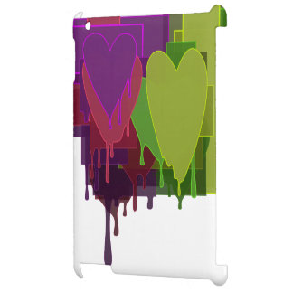ハートを溶かす色のブロック iPad CASE