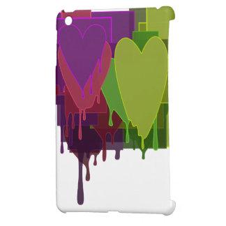ハートを溶かす色のブロック iPad MINI CASE