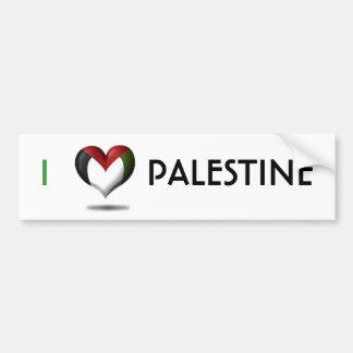 ハートパレスチナ バンパーステッカー