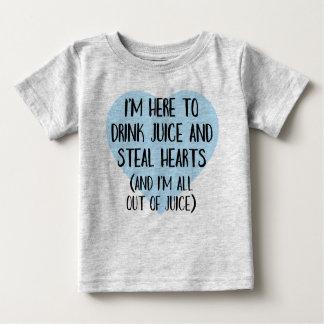 ハートブレーカーのティー-おもしろいなベビーの幼児のワイシャツ ベビーTシャツ