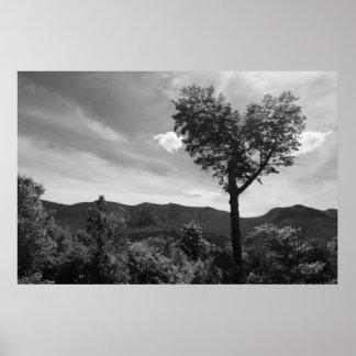 ハート形の木 ポスター