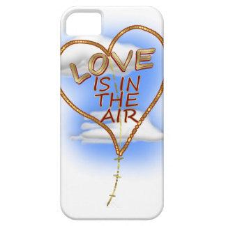 """ハート形の""""愛空気に""""は凧あります iPhone SE/5/5s ケース"""