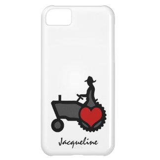 ハート愛のトラクター国 iPhone5Cケース