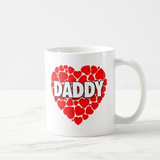 ハート-お父さんのマグのハート コーヒーマグカップ