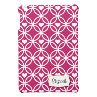 ハート|のiPad Miniケースのピンクの永遠の円 iPad Miniカバー