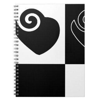 ハート、愛、友情、家族、人間関係 ノートブック