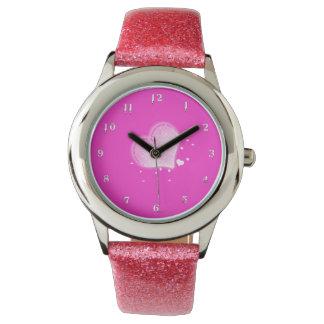 ハート 腕時計