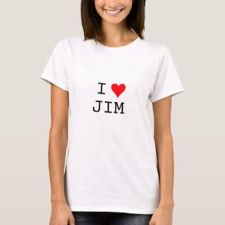 ハート、I、ジム Tシャツ