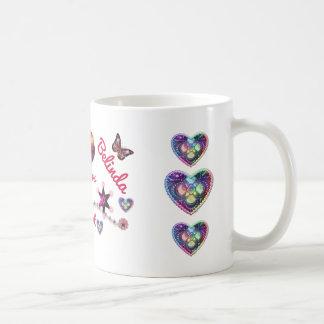 ハートLYLASの姉妹 コーヒーマグカップ