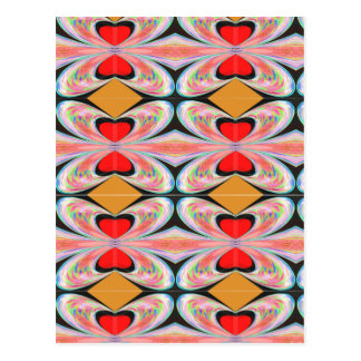 ハートnのダイヤモンド: 楽しむなnの共有の喜び ポストカード